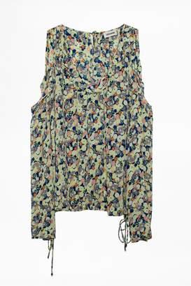 Zadig & Voltaire Tea Flower Tunic