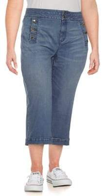 Karen Millen Denim Culotte Pants