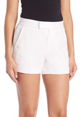 Polo Ralph Lauren Linen Oxford Shorts $165 thestylecure.com