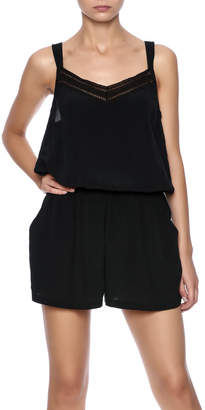 Charlie Joe Black Romper