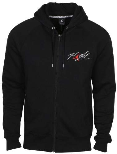 Jordan Men's Nike AJ Flight Full Zip Hoodie