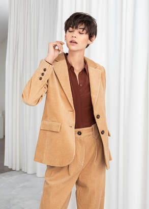 And other stories Corduroy Blazer