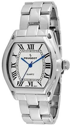 Peugeot Women's Tank Roman Numeral Bracelet Dress Watch 7069S