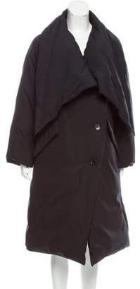 Issey Miyake Down Wool Coat