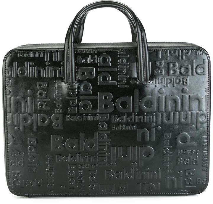 BaldininiBaldinini embossed briefcase