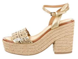 Tory Burch Platform Espadrille Sandals
