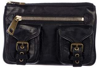 Marc Jacobs Leather Pocket Clutch