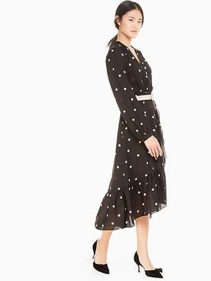 Kate Spade Bakery dot wrap dress