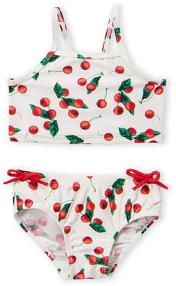 6726b94b28afae Sol Swim (Toddler Girls) Two-Piece Cherry Print Bikini Top & Bottom Set