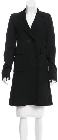 Balenciaga Balenciaga Wool Knee-Length Coat