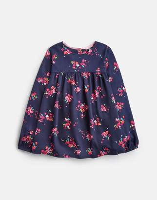 Joules Gwen Frill Sleeve Woven Top 3-12yr