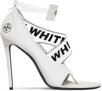 Off-White 120mm Yoga Neoprene Open Toe Sandals