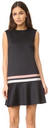 RED Valentino Striped Scuba Dress $475 thestylecure.com