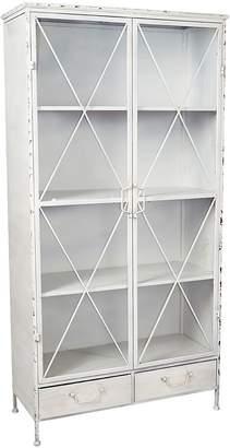 Casa Uno Bookcases Industrial Display Cabinet