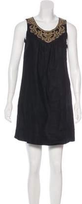 MICHAEL Michael Kors Embellished Shift Mini Dress