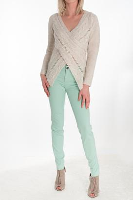 RD Style Wrap Effect Sweater $72 thestylecure.com