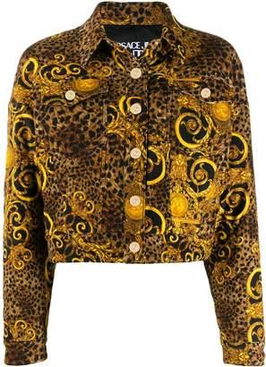 Versace (ヴェルサーチ) - Versace Jeans Couture レオパード ジャケット