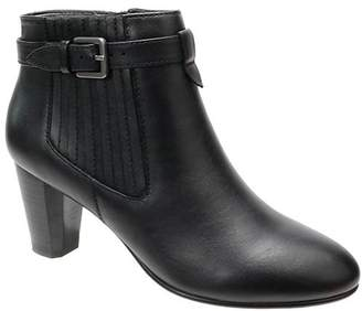 David Tate Leather Ankle Boots - Opal