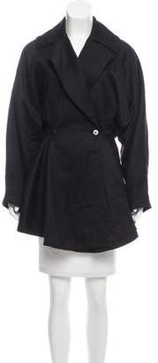 Alaia Fitted Wool Coat