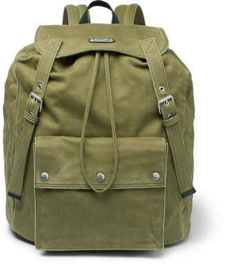 Noe Washed-Canvas Backpack