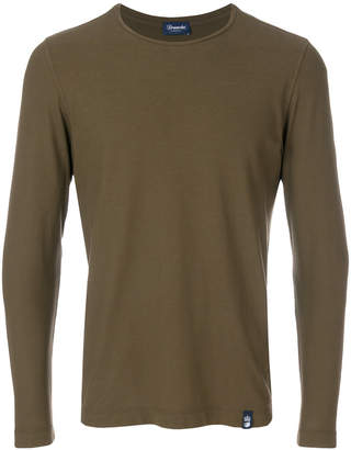 Drumohr fitted jersey top