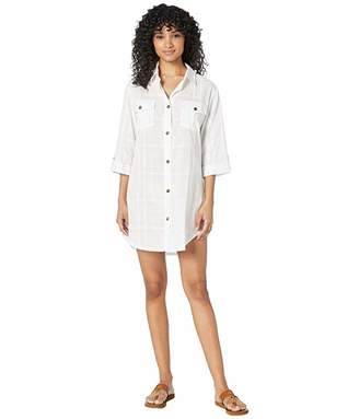 Dotti On Island Time Shirtdress Cover-Up