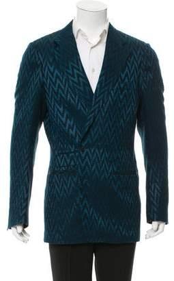 Haider Ackermann Wool & Silk-Blend Blazer w/ Tags