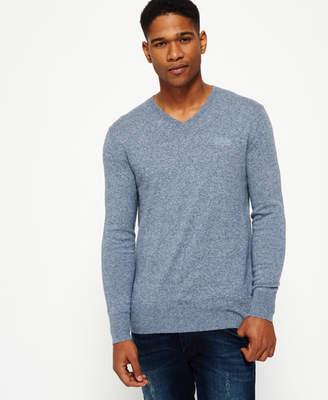 Superdry Orange Label Vee Knit Sweater