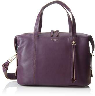 Le Tanneur Women s TELA1010 Top-Handle Bag Purple 4b1ac83adaf51