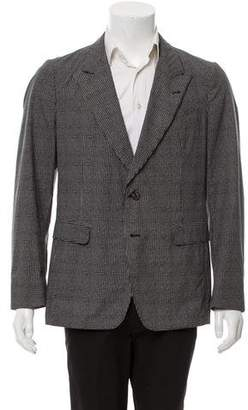 Dries Van Noten Deconstructed Pattern Blazer