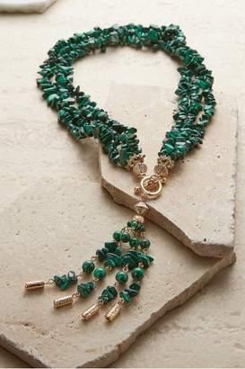 Soft Surroundings Green Sea Goddess Necklace