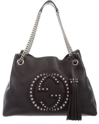 Gucci Studded Soho Shoulder Bag