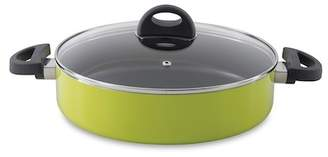 """Berghoff Lime 10.25\"""" Covered Two Handle Saute Pan"""
