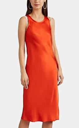 Helmut Lang Women's Satin Slipdress - Orange
