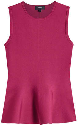 Theory Sleeveless Peplum Top