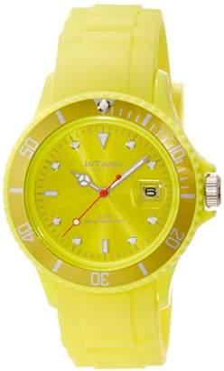 [インタイムス]INTIMES 腕時計 シチズンムーブ搭載 日付カレンダー付き ルミイエロー IT044-LUYW レディース 【正規輸入品】