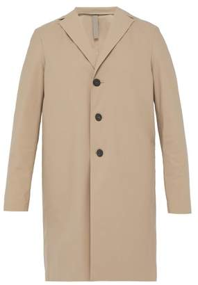 Harris Wharf London Single Breasted Technical Overcoat - Mens - Camel
