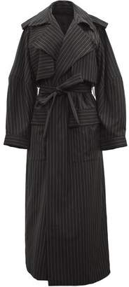 Michael Lo Sordo Relaxed Cocoon Trench Coat
