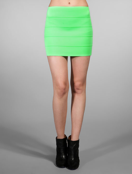 Pleasure Doing Business 5 Band Bandage Skirt