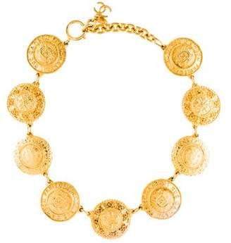 Chanel Rue 31 Cambon Coin Necklace