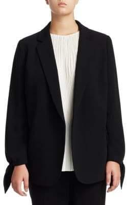 Lafayette 148 New York Lafayette 148 New York, Plus Size Plus Bria Crepe Jacket
