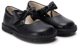 Il Gufo bow front ballerina pumps