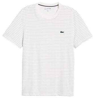 Lacoste Dotted Stripe T-Shirt