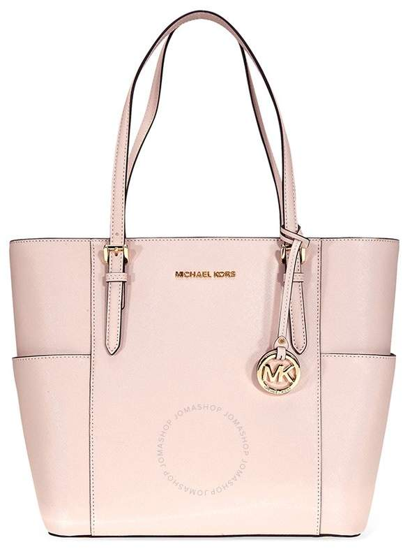 73ed210535b6 Michael Kors Jet Set Large Saffiano Leather Tote- Soft Pink - ONE COLOR -  STYLE