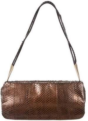 Bottega Veneta Small Snakeskin Bag