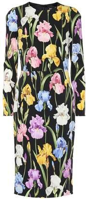 Dolce & Gabbana Floral silk-blend dress