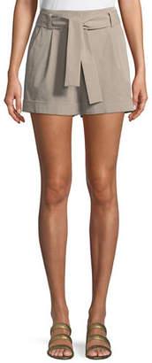 Lafayette 148 New York Greenpoint Bi-Stretch Pima City Shorts