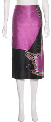 Dries Van Noten Wool Pencil Skirt
