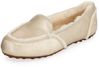 UGG Hailey Metallic Fur-Lined Indoor/Outdoor Slippers