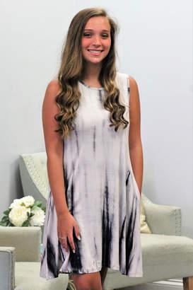 Yelete Tie Dye Pocket Dress